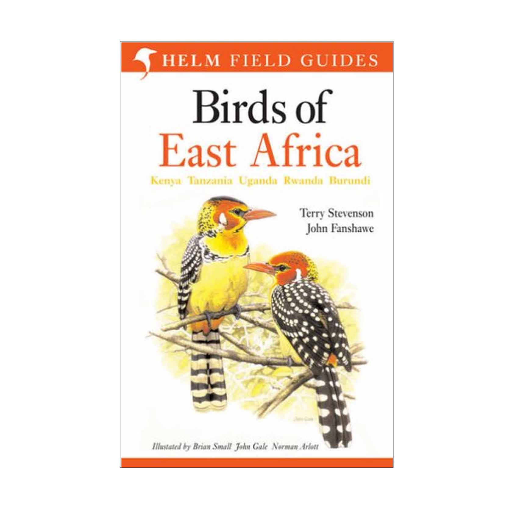 Field Guides: Birds Of East Africa – Helm Field Guide